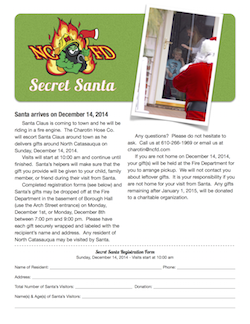 Secret Santa Registration 2015