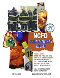 Blue Monkey flyer thumbnail