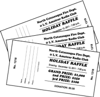 Cheer Raffle Tickets