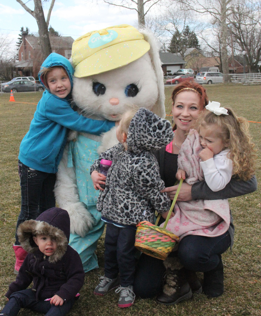 Photo with Easter Bunny